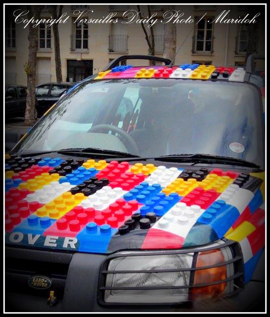 Lego Land Rover Versailles