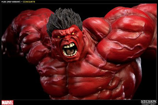 Red Hulk (Marvel Comics) Character Review - Statue Product