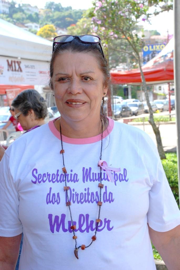 Rosilda de Carvalho Barbosa, secretária interina dos Direitos da Mulher: celebração pelos direitos conquistados