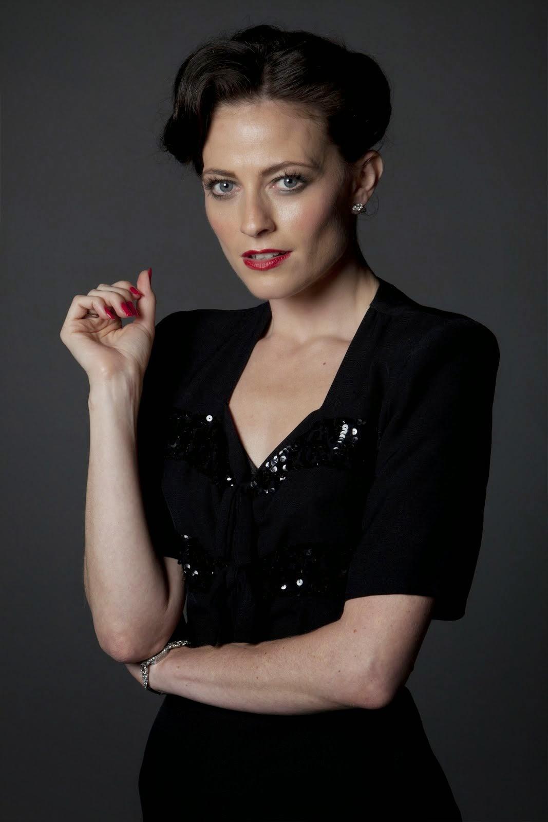 Lara Pulver as Irene Adler in BBC Sherlock Season 2 Episode 1 A Scandal in Belgravia