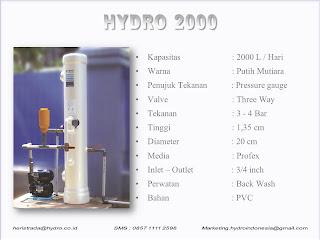 Harga HYDRO 2000 Family