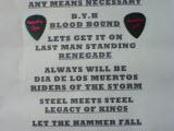 HammerFall, Bucuresti, Hard Rock Cafe, 30 noiembrie 2011 - setlist si pene de la Oscar si Fredrik