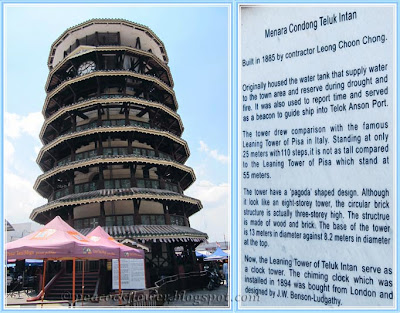 The famous Leaning Tower of Teluk Intan, Perak