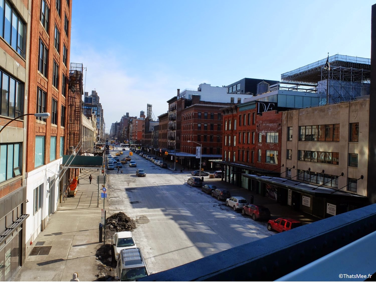 visiter New-York Highline promenade suspendue pont