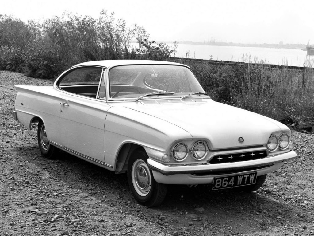 Avengers in time 1961 cars ford consul classic ford consul capri
