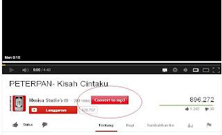 Cara Download MP3 Di Youtube Dengan Mozilla Frefox