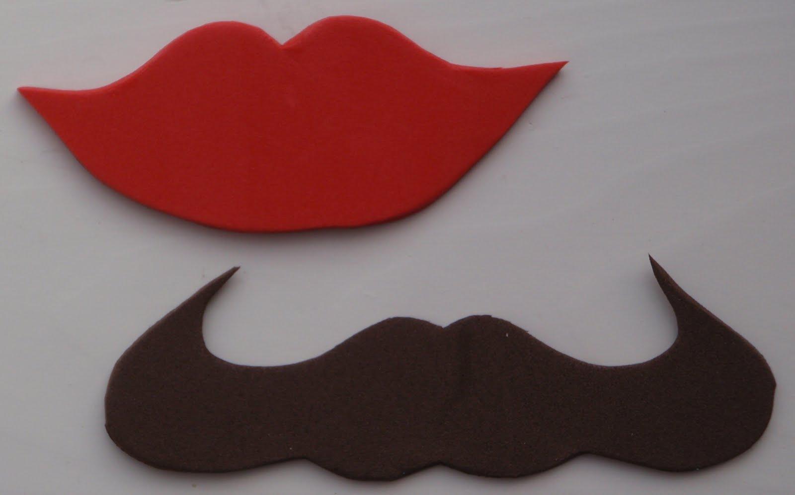 eat my cakes lollipop lips mustaches