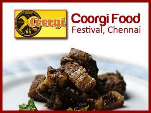 Coorgi food festival in Chennai