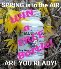 Enter to Win a FREE Bottle of Muscadine Grape Seed Supplement!
