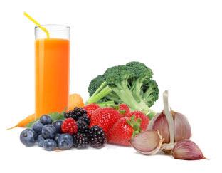 gambar makanan untuk membersihkan darah