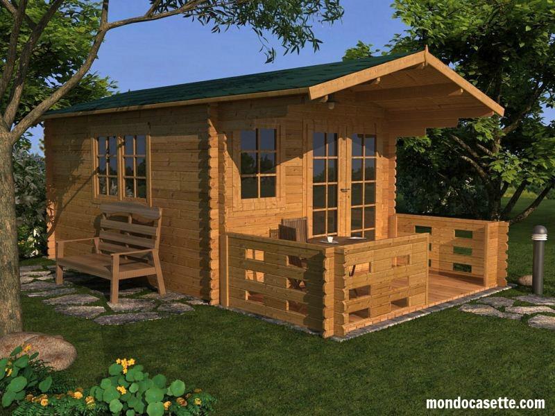 Vivere in case di legno casette in legno for Offerte case in legno abitabili