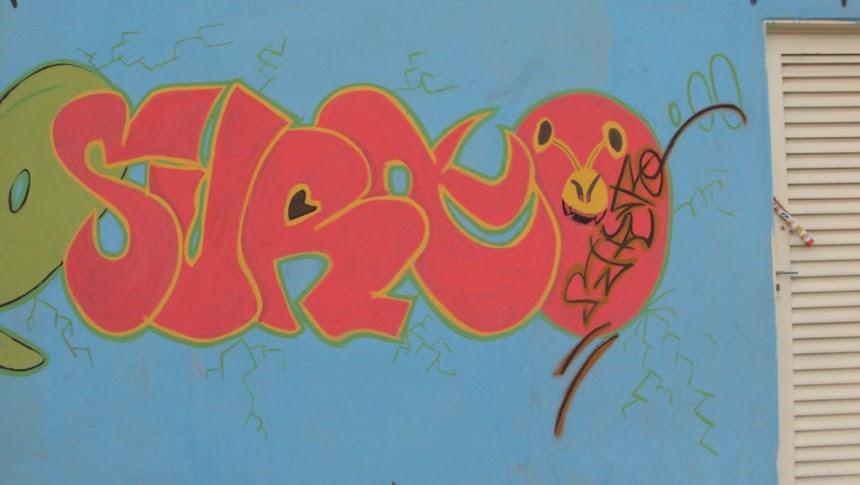 Graffiti letras SURTO