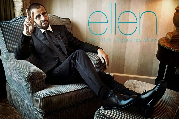 The Beatles Polska: Ringo Starr gościem w The Ellen DeGeneres Show