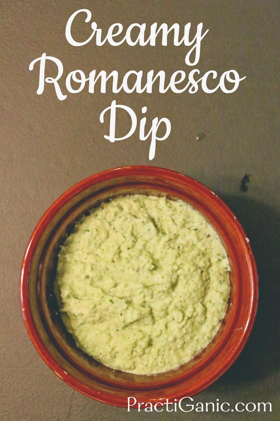 Creamy Romanesco Dip