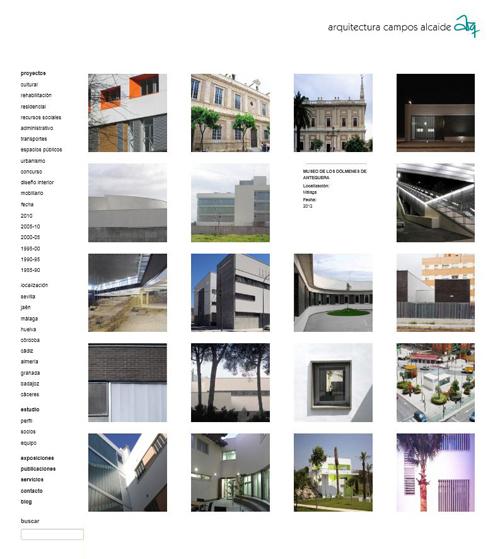 Arquitectura campos alcaide nueva p gina web - Arquitectura tecnica sevilla ...
