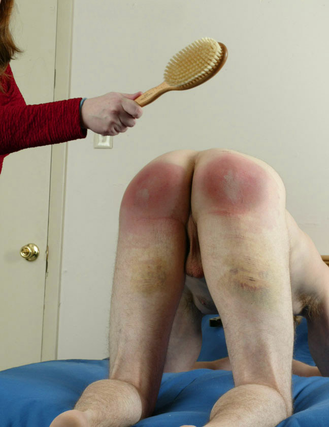 Husband severely spanked wife as punishment