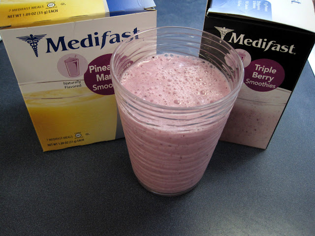 new Medifast smoothies