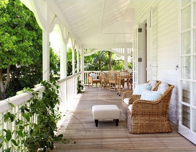 Heimsverden inspirasjon til verandaen Country style verandahs