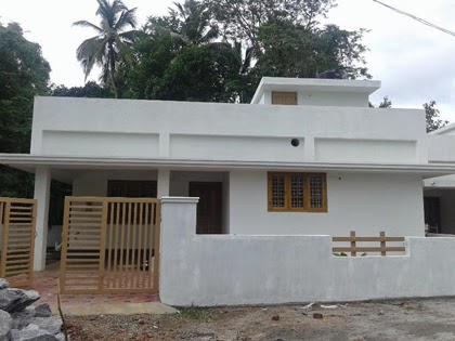 1800 sq ft 4 bedroom low budget house plan kerala model for Kerala style low budget home plans