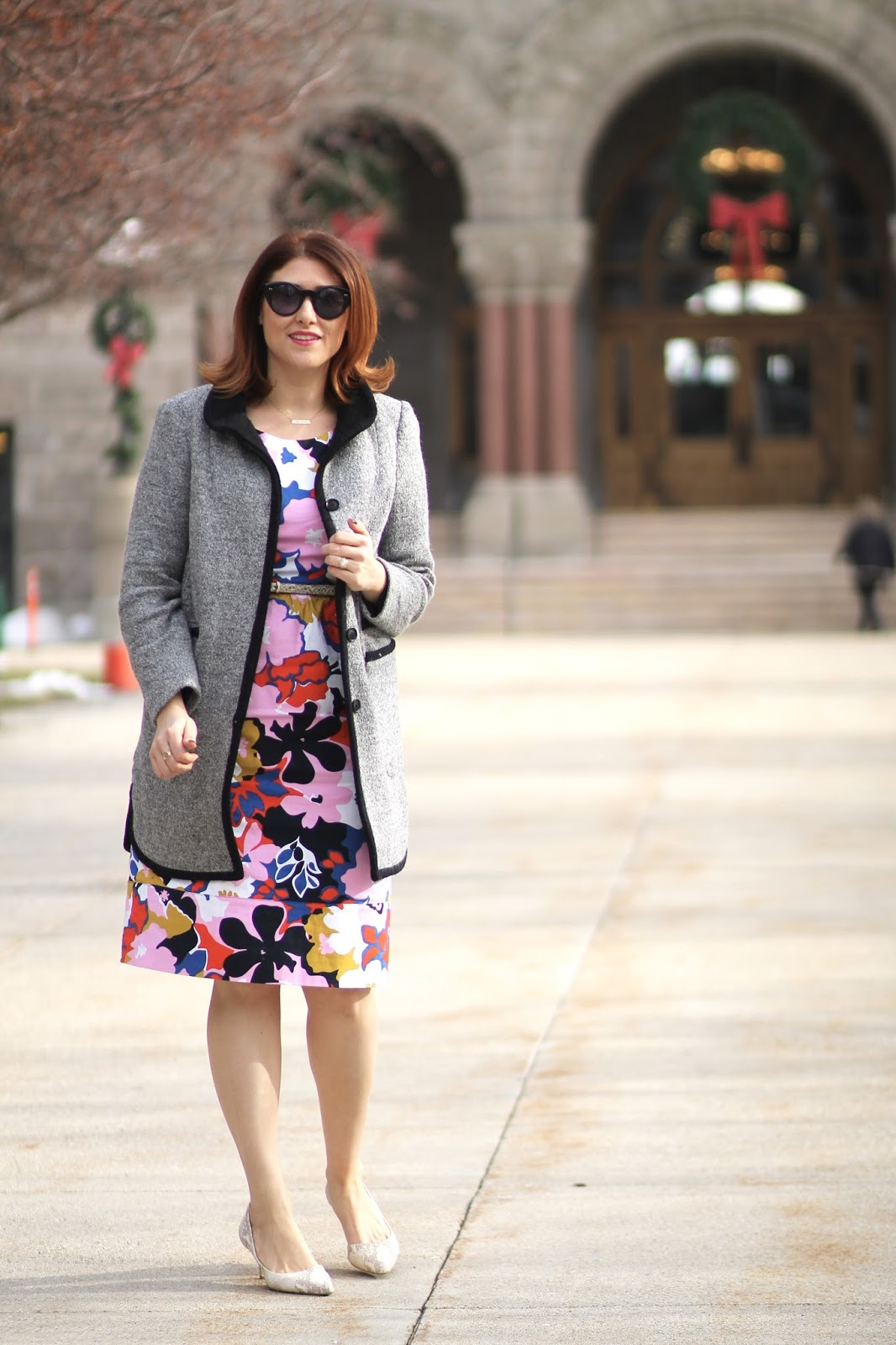 colorful, dress, teacher, outfit