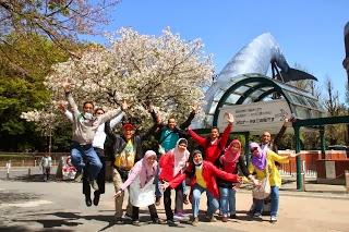 salah satu taman-taman yang indah | Paket Promo Tour Wisata Muslim Ke Jepang