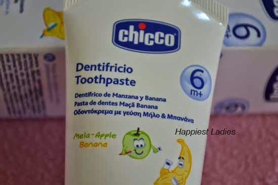Chicco Apple and Banana Dentifricio Toothpaste
