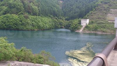 Minowa Dam MomijiLake
