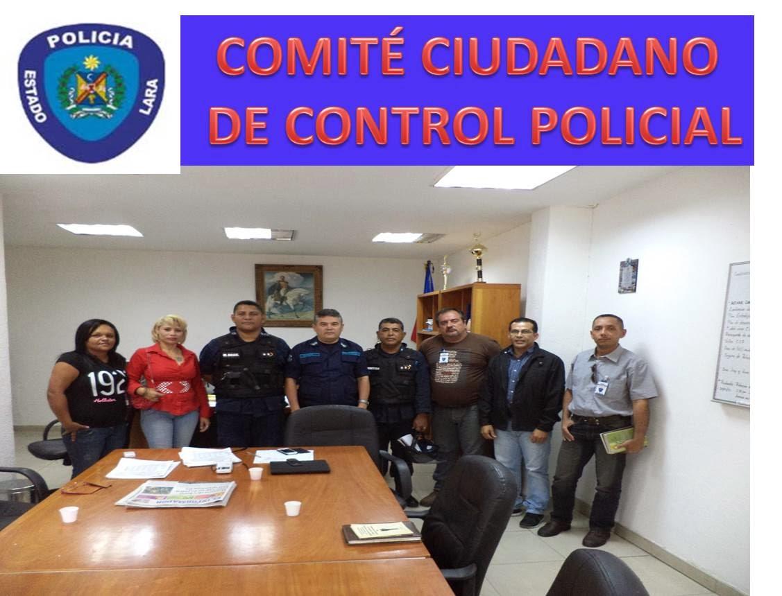 COMITE CIUDADANO DE CONTROL POLICIAL PARA LA POLICIA DEL ESTADO LARA