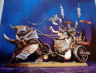 Gorebeast chariot