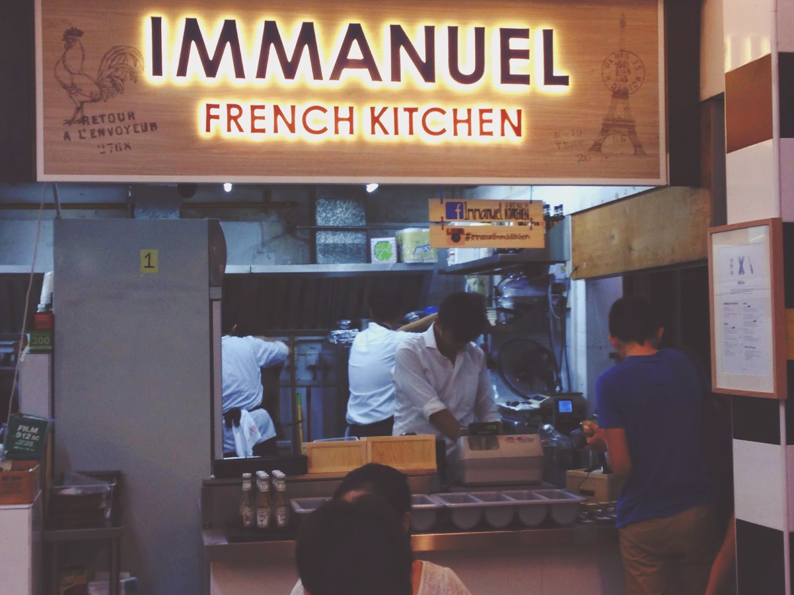Salute Immanuel French KItchen Bukit Merah Lane 1