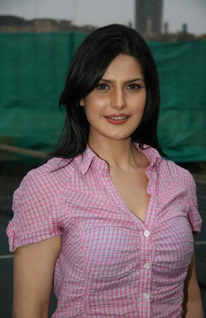 Unseen Tamil Actress Images Pics Hot: zarine khan sexy bikini boobs ...