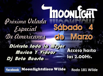 MOONLIGHT - 4 DE MARZO