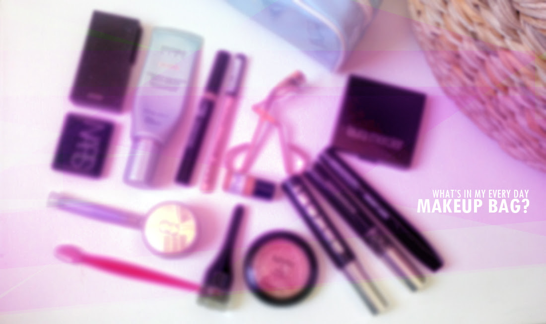 What's inside my every day makeup bag