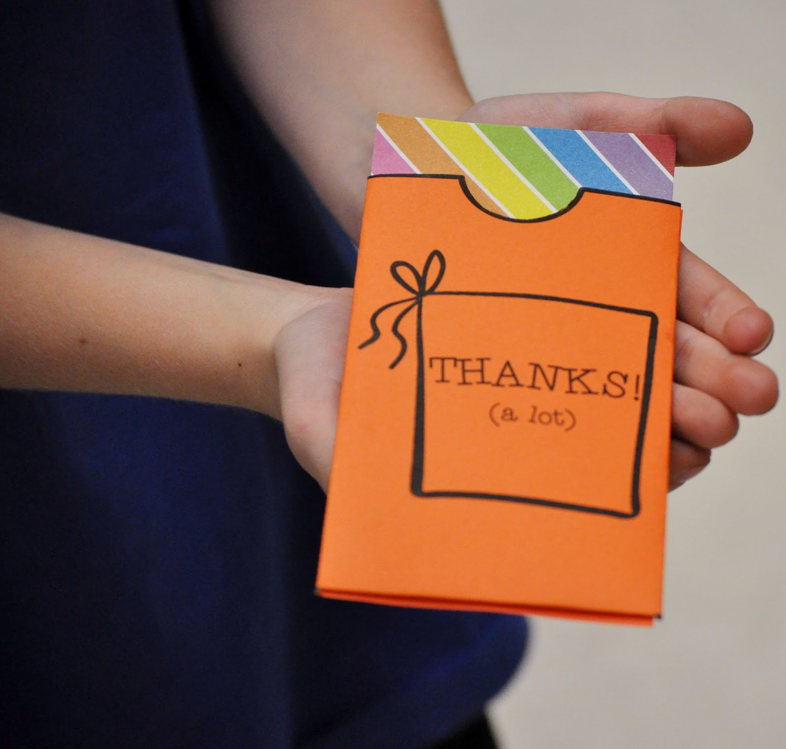 help writing thank you notes