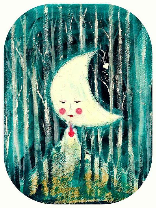 Ilustración en collage de Beatriz Blanca