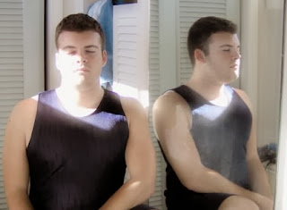 meditating guy from lisabintuitive.com