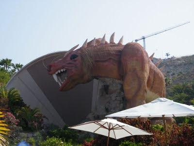 Dragón de Siam Park vista 7