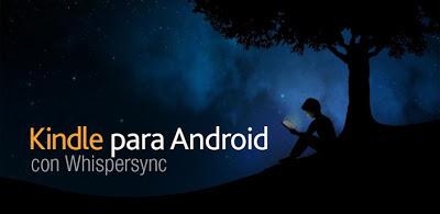 Aplicación para convertir tu Android en un lector Kindle