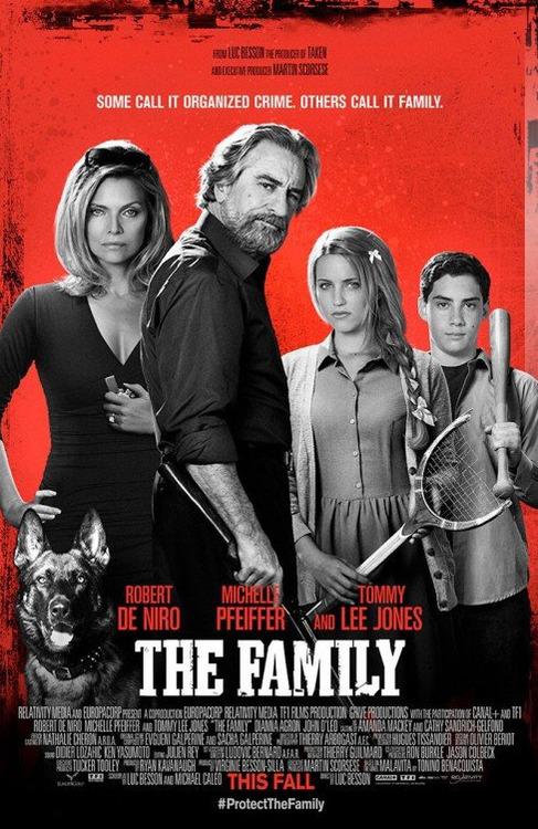 Malavita, Dianna Agron, Michelle Pfeiffer, Robert De Niro, Tommy Lee Jones, John D'Leo