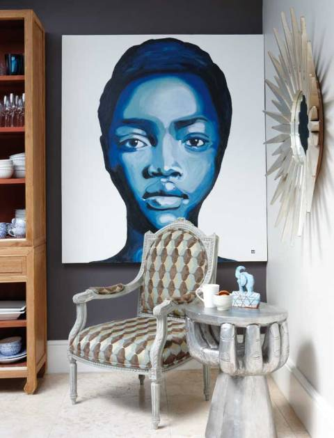 una residencia afro chic afro chic home. Black Bedroom Furniture Sets. Home Design Ideas