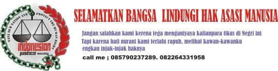 KEADILAN UNTUK RAKYAT INDONESIA