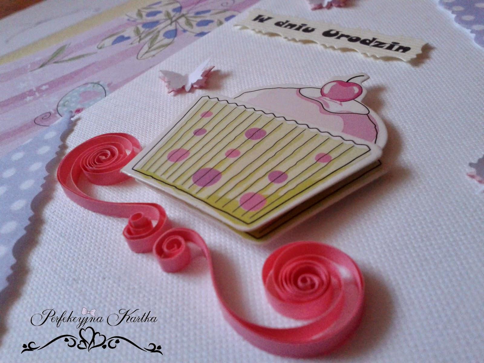 kartka dla babeczki