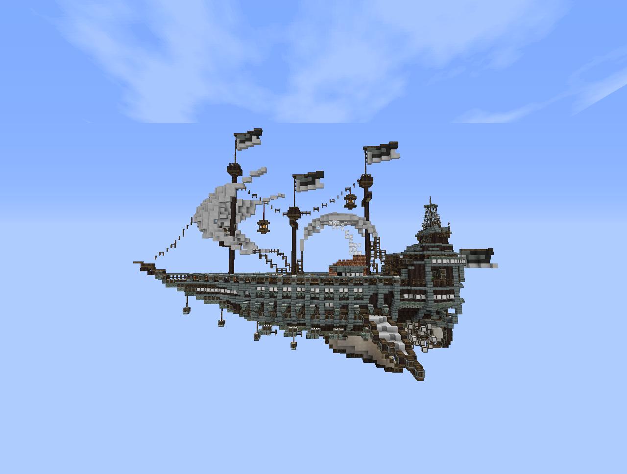 Navio Minecraft