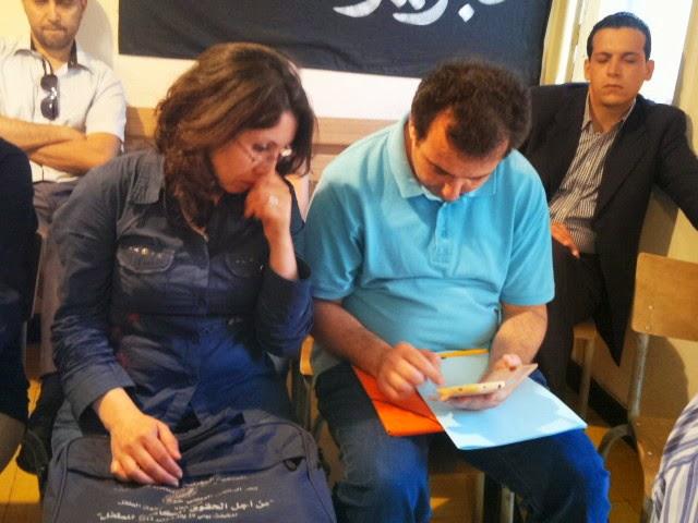"""صور الندوة الصحافية حول مجريات التحقيق في مقتل مغني الراب الشاب """"ريفينوكس"""" بالناظور"""