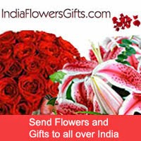 Send Flowers to India, Cakes to India, Gifts to India