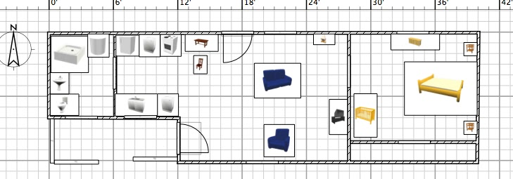 Kitchen layouts 12x12 for 12 x 24 cabin floor plans
