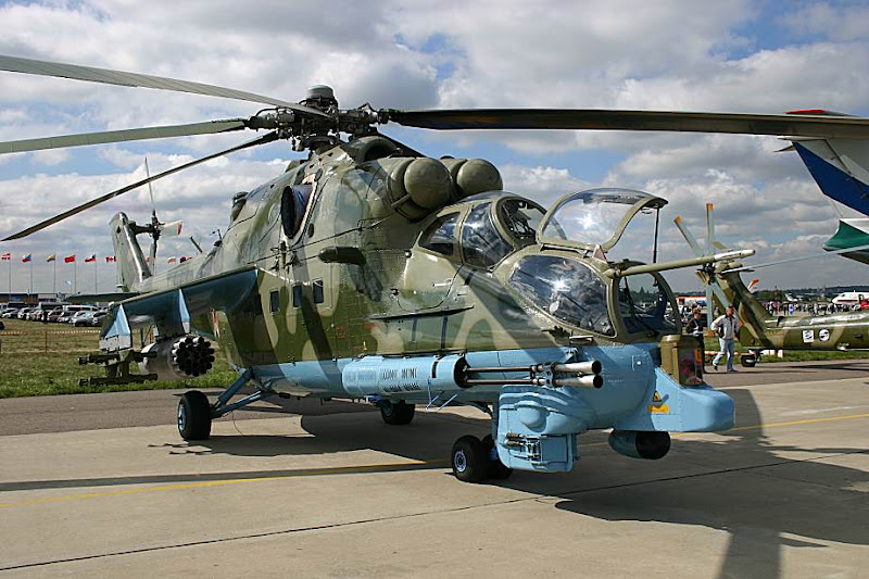 Mi-24PN Russian Combat Helicopter