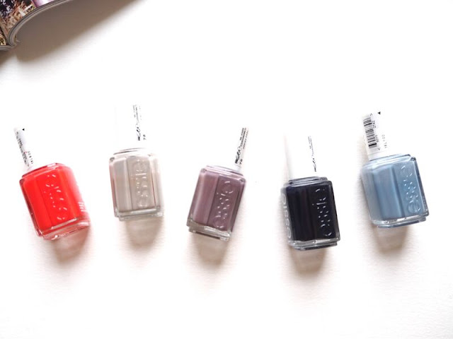 essie, essiepolish, nails, nail polish, favourites, firth avenue, master plan, merino cool, after school boy blazer, truth or flare