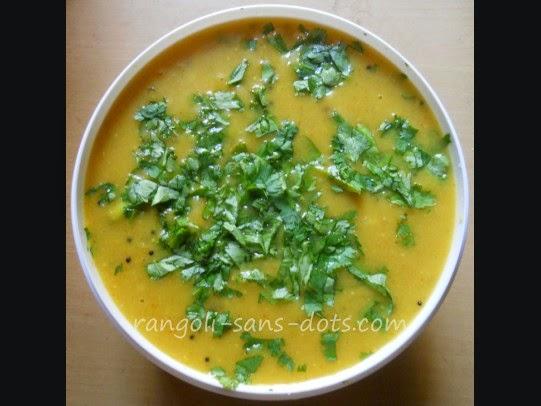 Side dish for poori , chapati