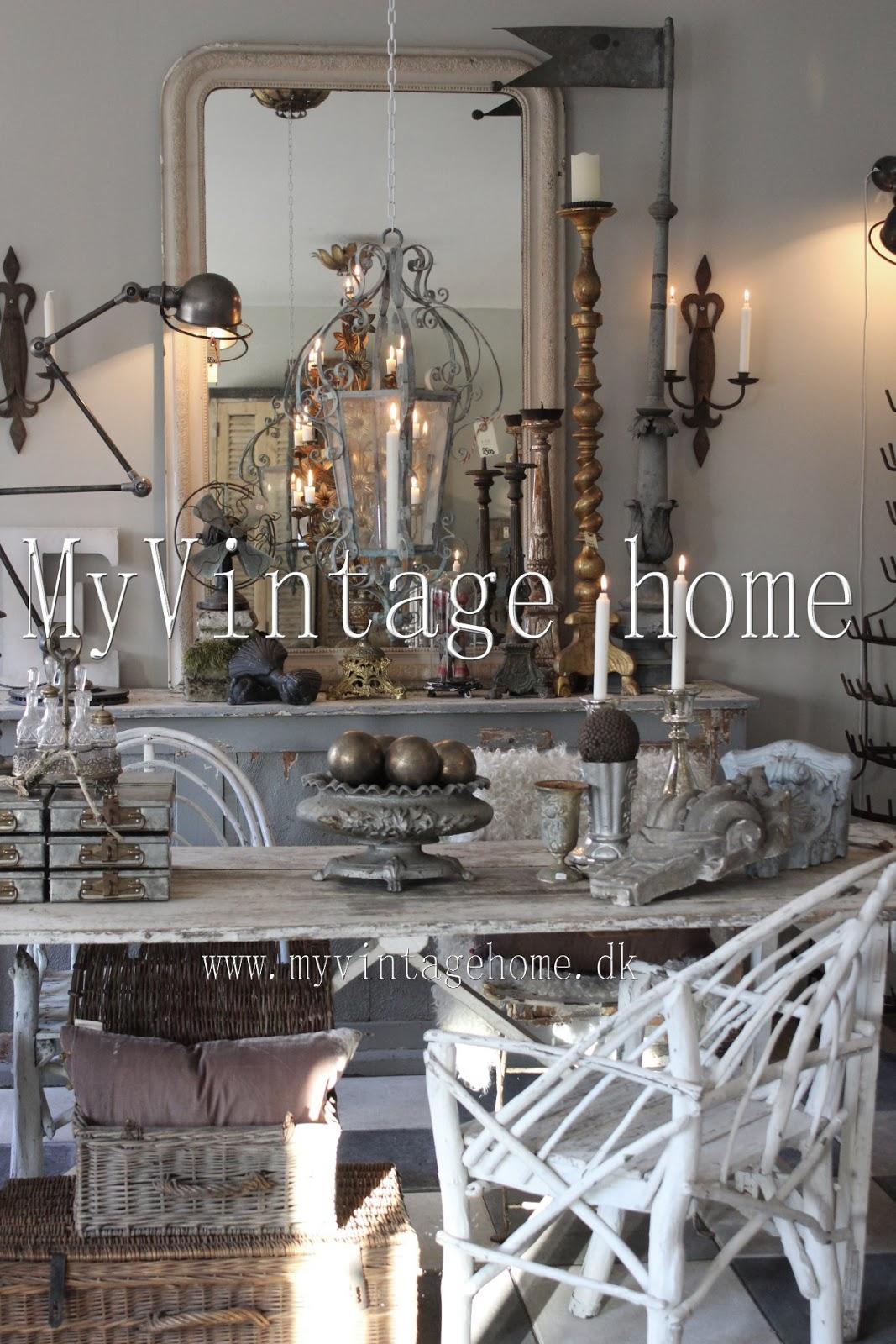 #866645 Bedst My Vintage Home: Fransk Antik & Vintage Hvid Vintage Rå Industriel St  Fransk Landkøkken Stil 4823 106716004823